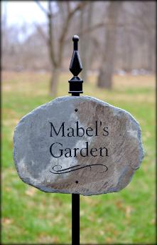 Personalized Garden Plaques